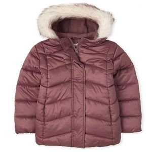NWT • Children's Place Puffer Jacket sz Small 5/6